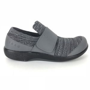 NWOT ALEGRIA Traq Qwik Knit Charcoal Slip On 6